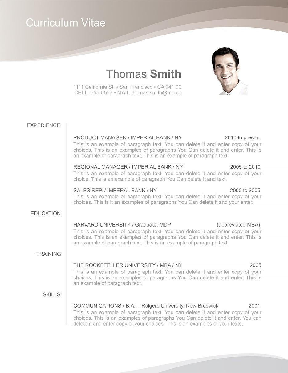 resume template 106060