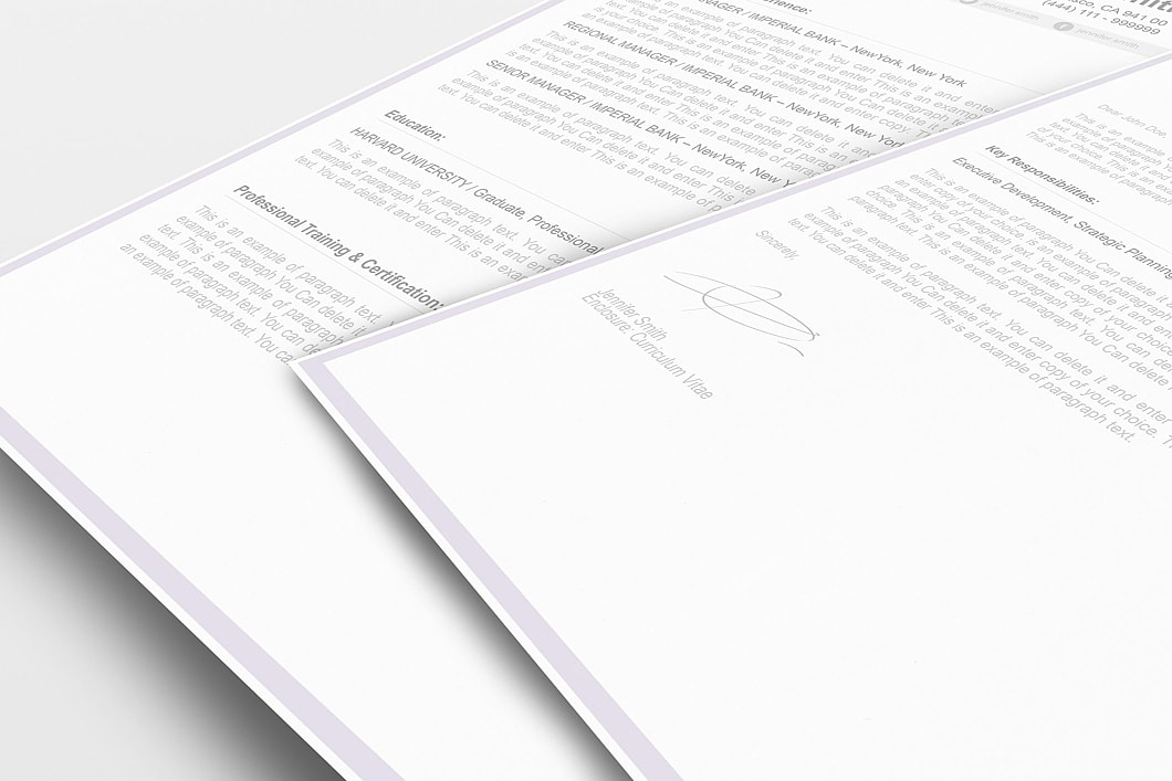 Resume Template 106080 3