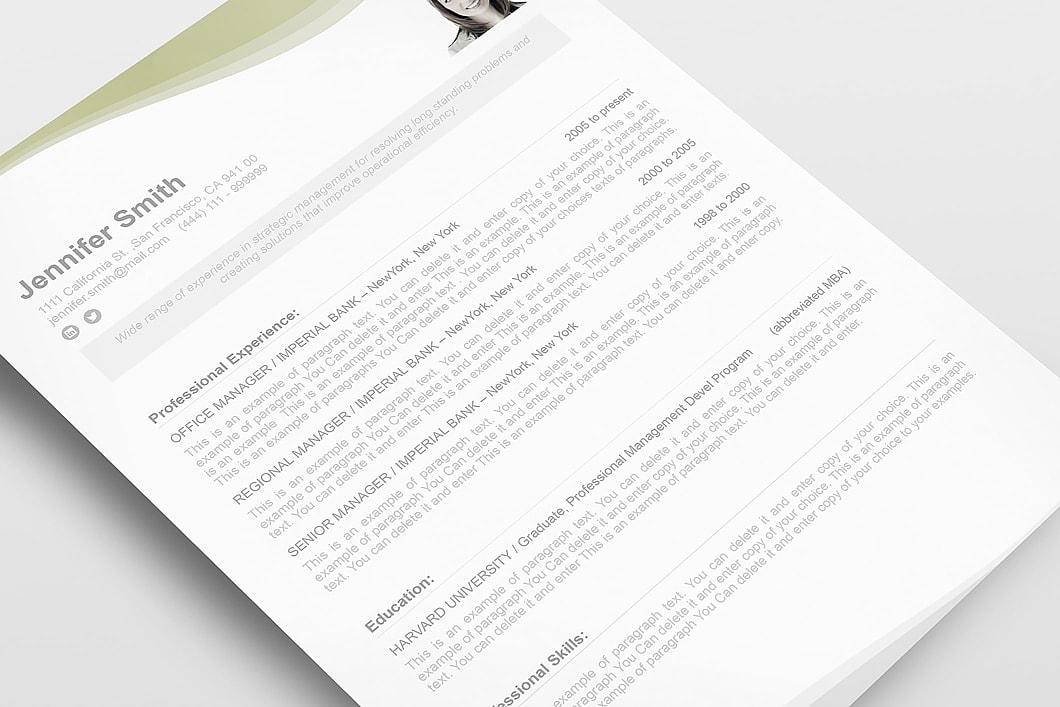 Resume Template 107050 5