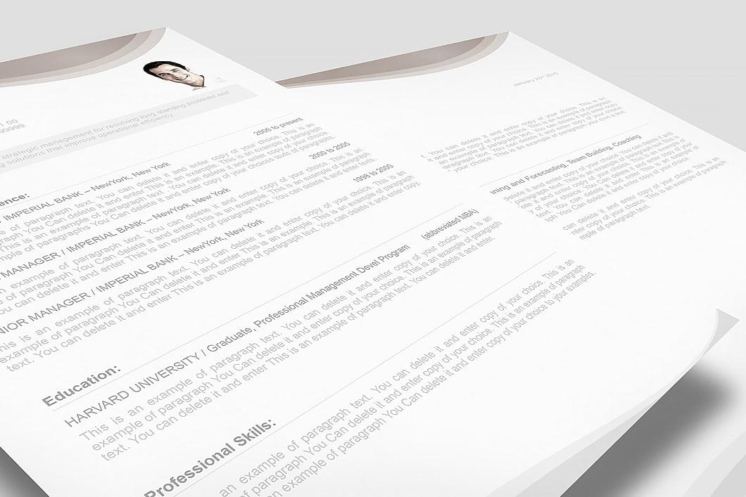 Resume Template 107060 3