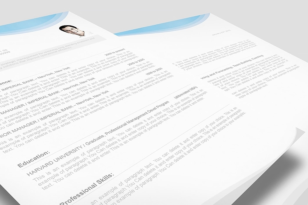 Resume Template 107080 3