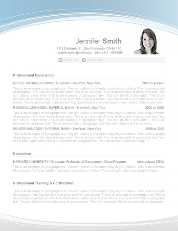 Resume Template 108060