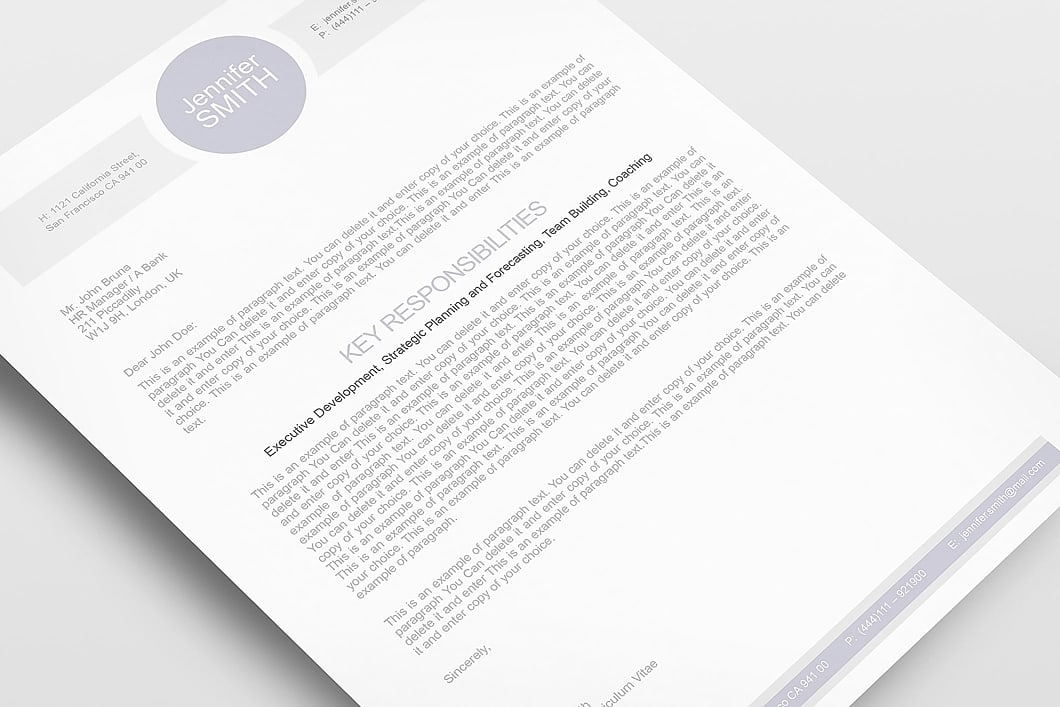 Resume Template 109090 6