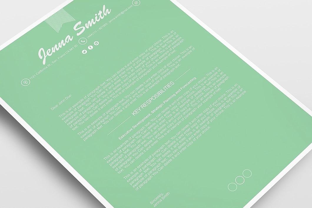 Resume Template 110200 6