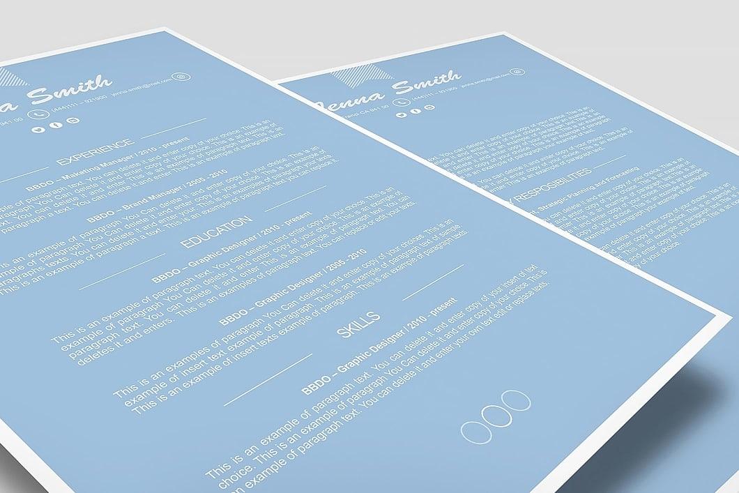 Resume Template 110210 3
