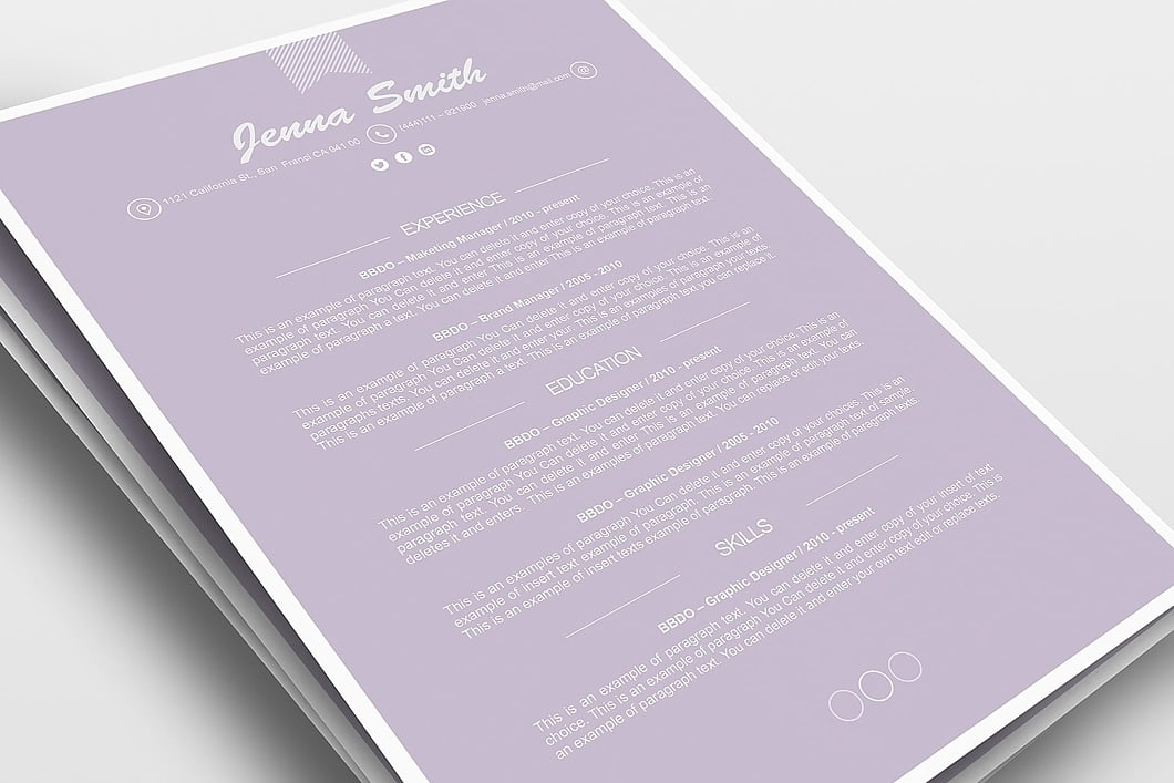Resume Template 110220 1