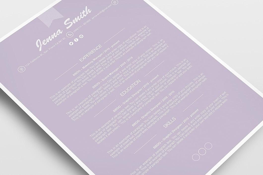 Resume Template 110220 5