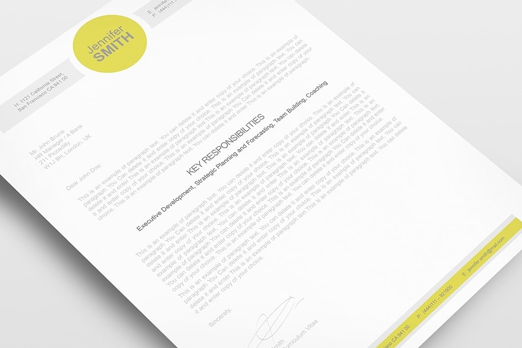 Resume Template 110340 2