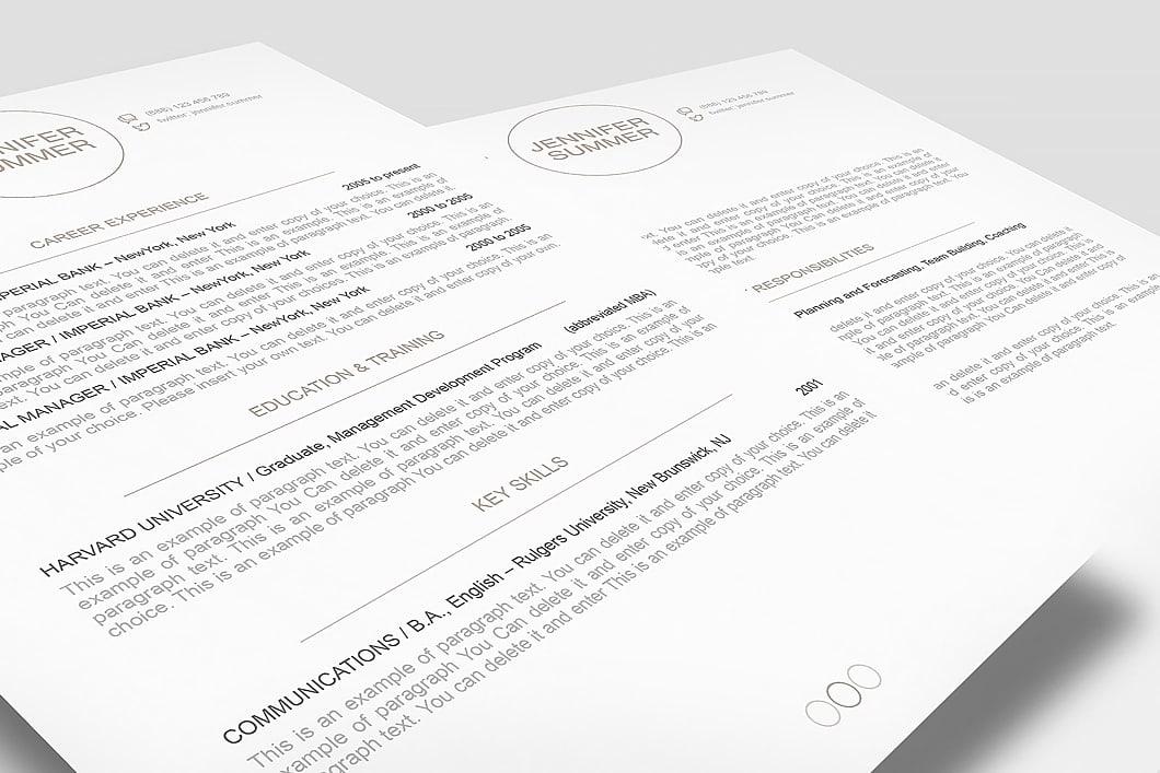 Resume Template 110420 3
