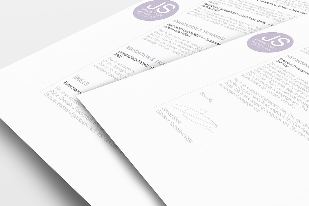 Resume Template 110550 1
