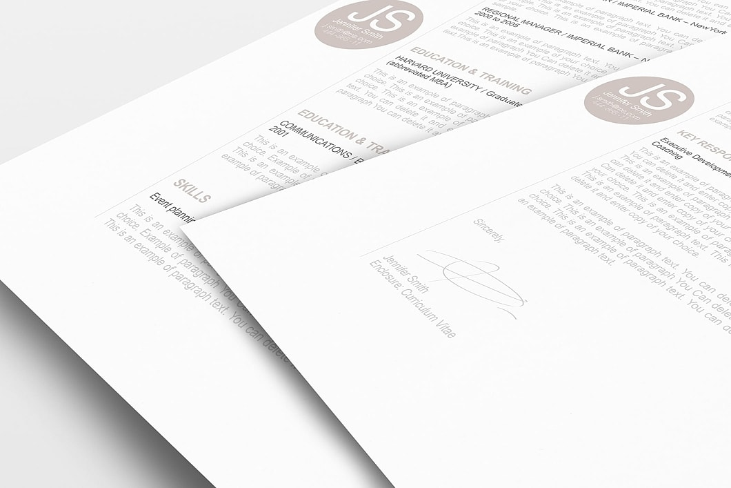 Resume Template 110570 1