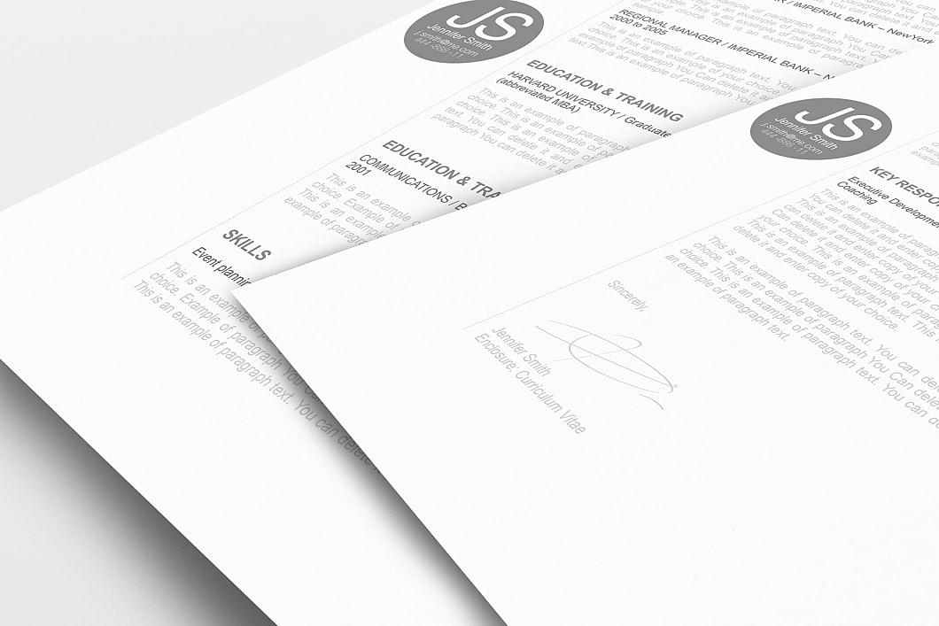 Resume Template 110580 1