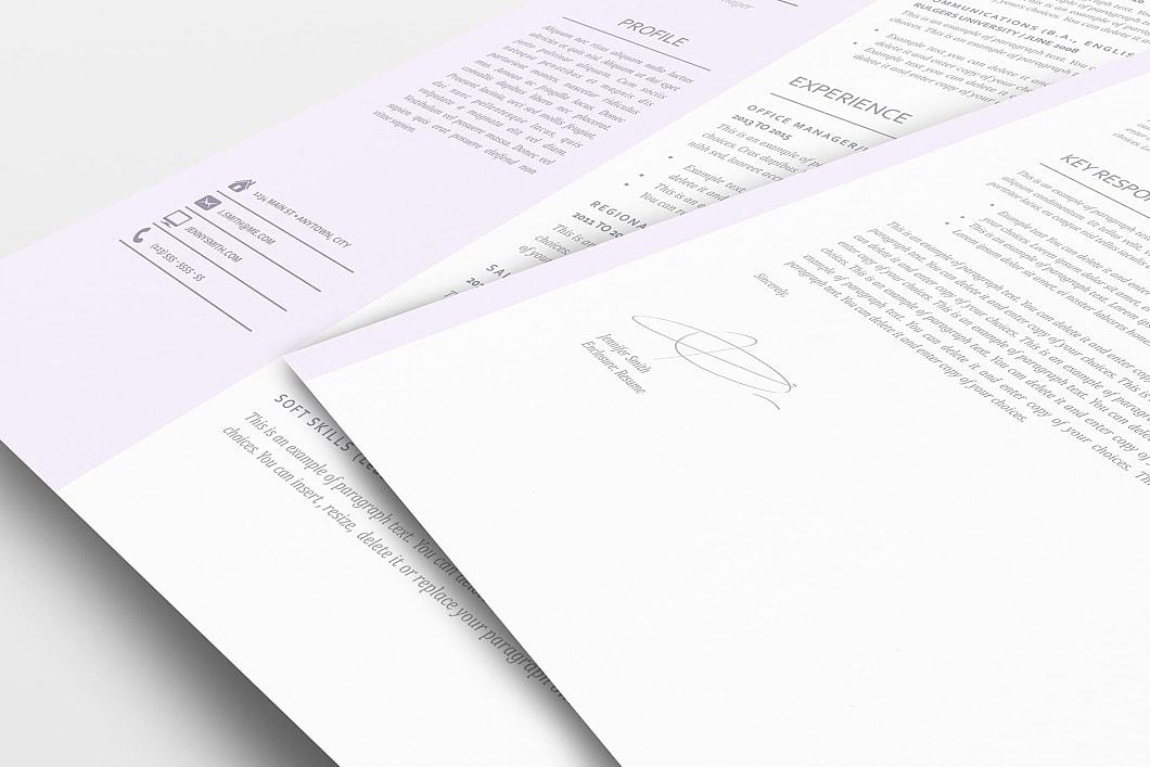 Resume Template 110950 1