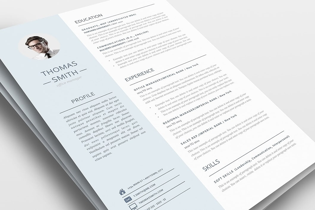 Resume Template 110970 0