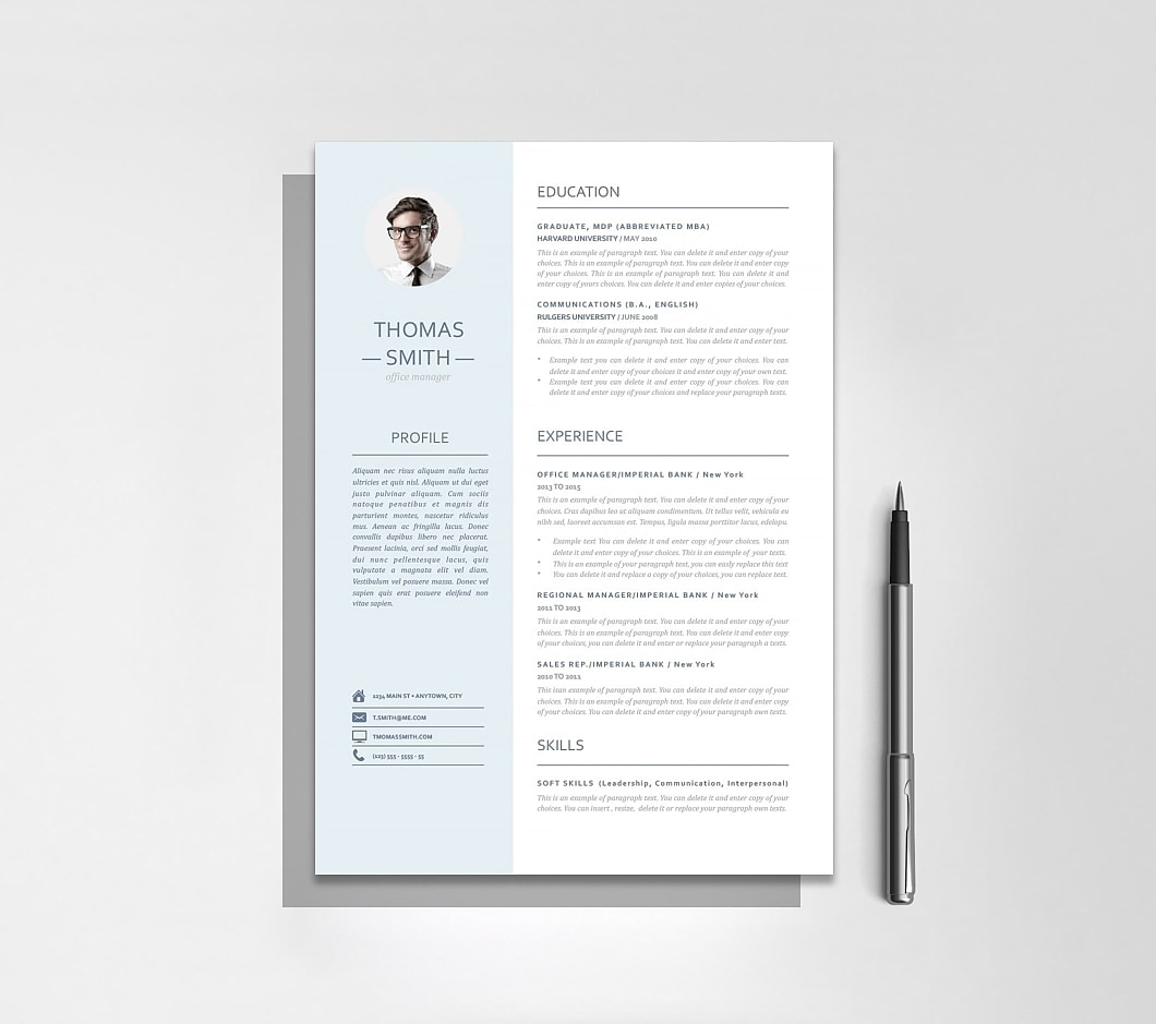 Resume Template 110970 4