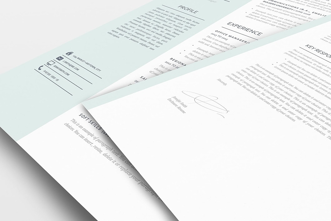 Resume Template 110980 1