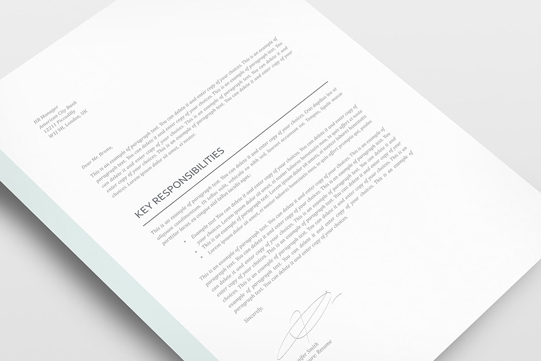 Resume Template 110980 2