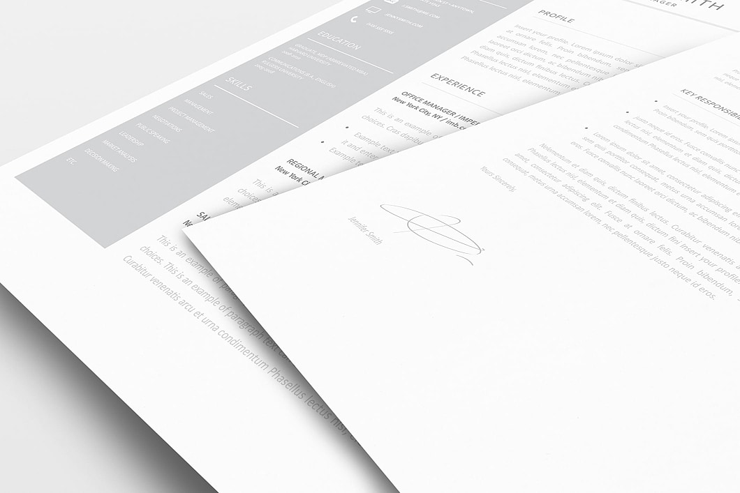 Resume Template 110990 1
