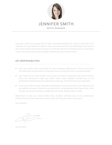 Resume Template 110990 5