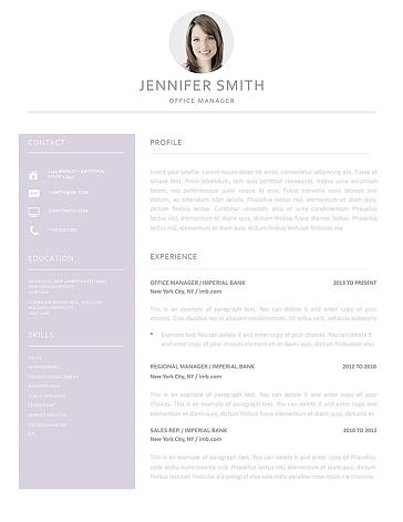 Resume Template 120000