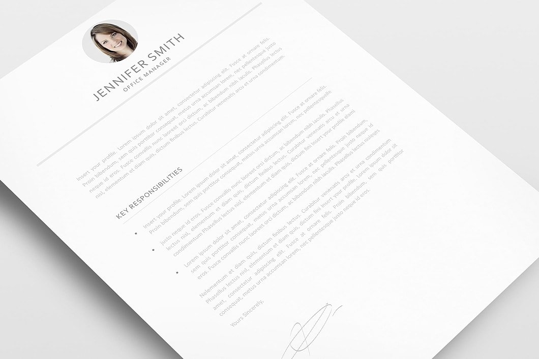 Resume Template 120010 2