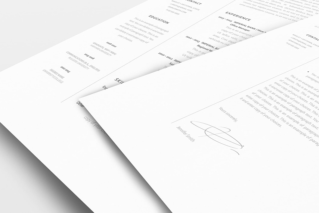 Resume Template 120060 1