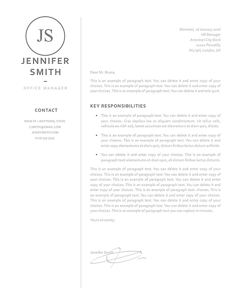 Resume Template 120060 5