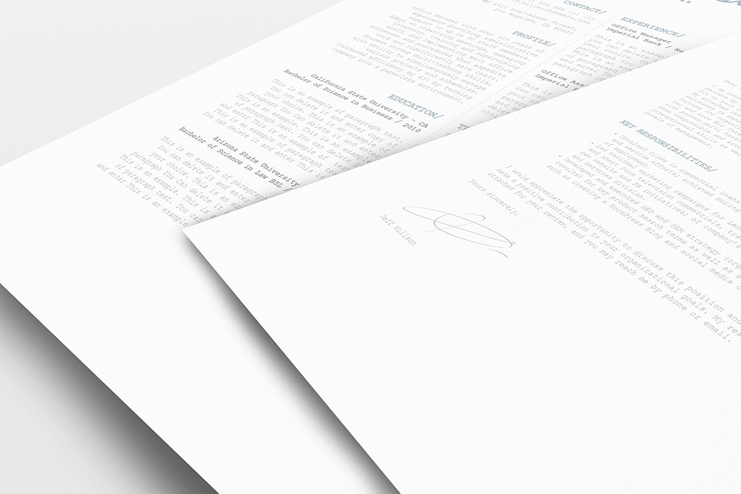 Resume Template 120130 1