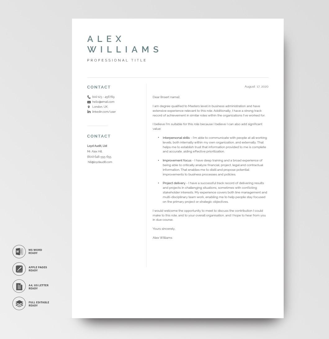 Resume Template Elegant 120890 3