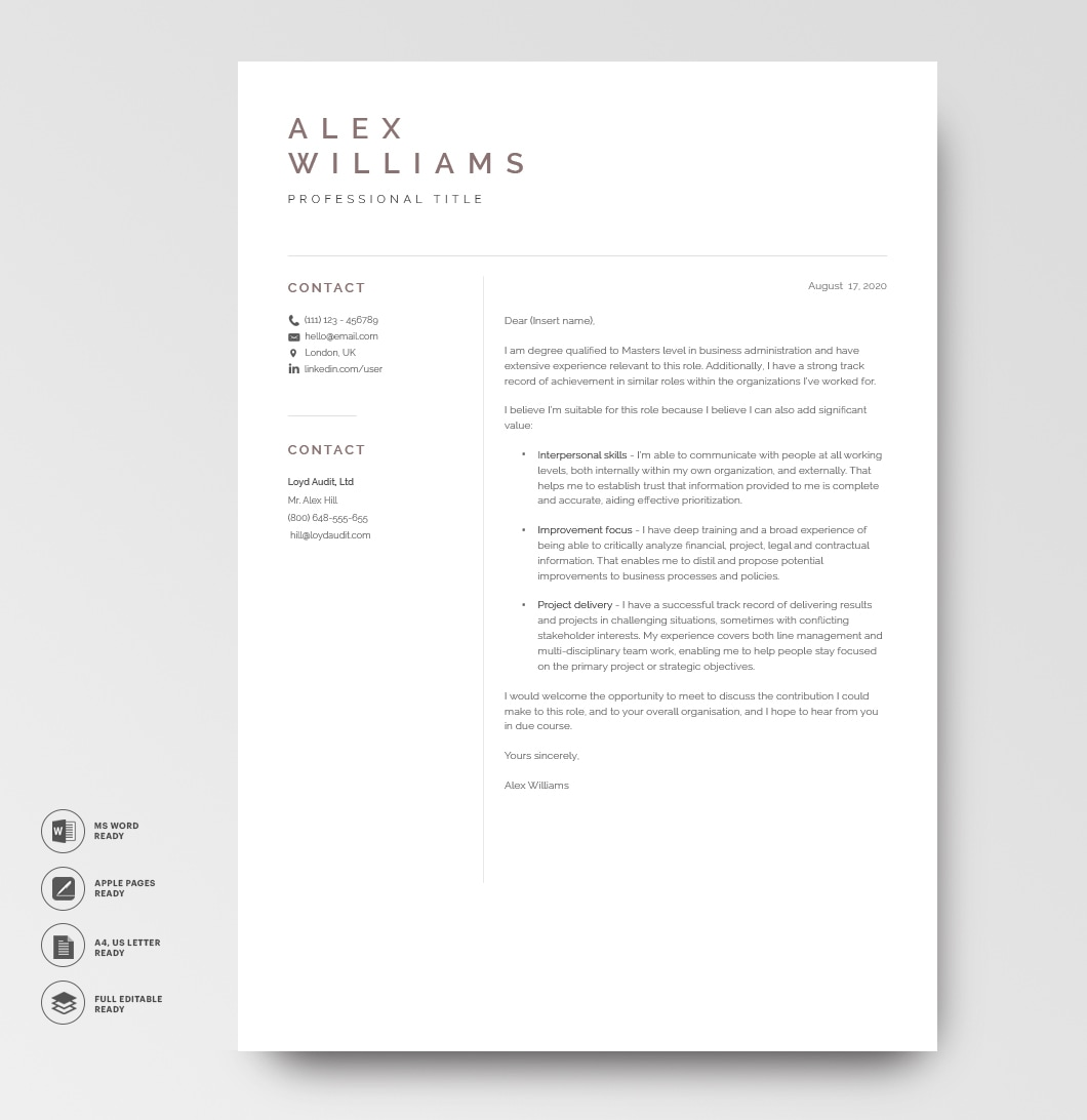 Resume Template Elegant 120900 3