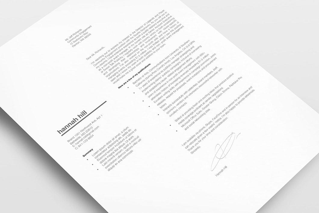 Resumeway Classic Resume Template 120350