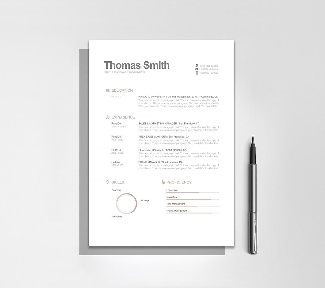 Resumeway Modern Resume Template 110790
