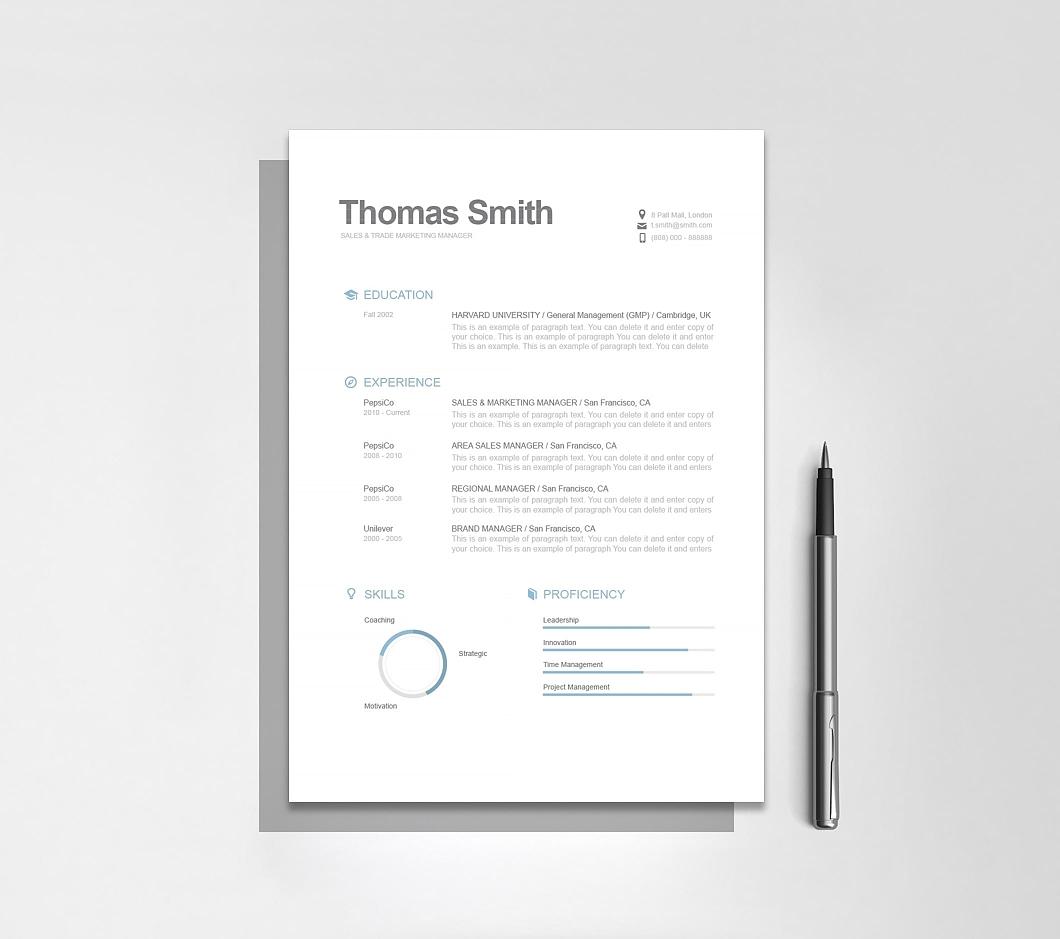 Resumeway Modern Resume Template 110810