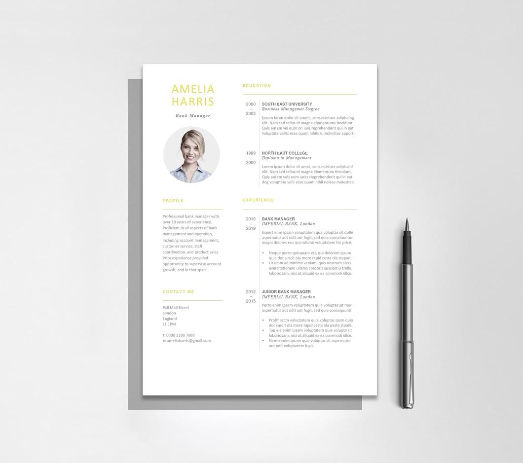 Resumeway Modern Resume Template 120460