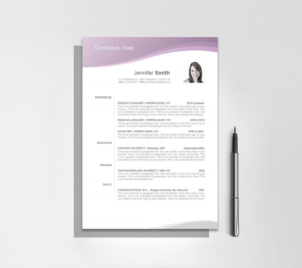 Resumeway Resume Template 106030