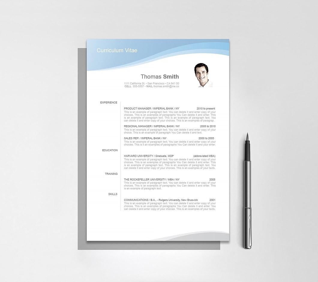Resumeway Resume Template 106040