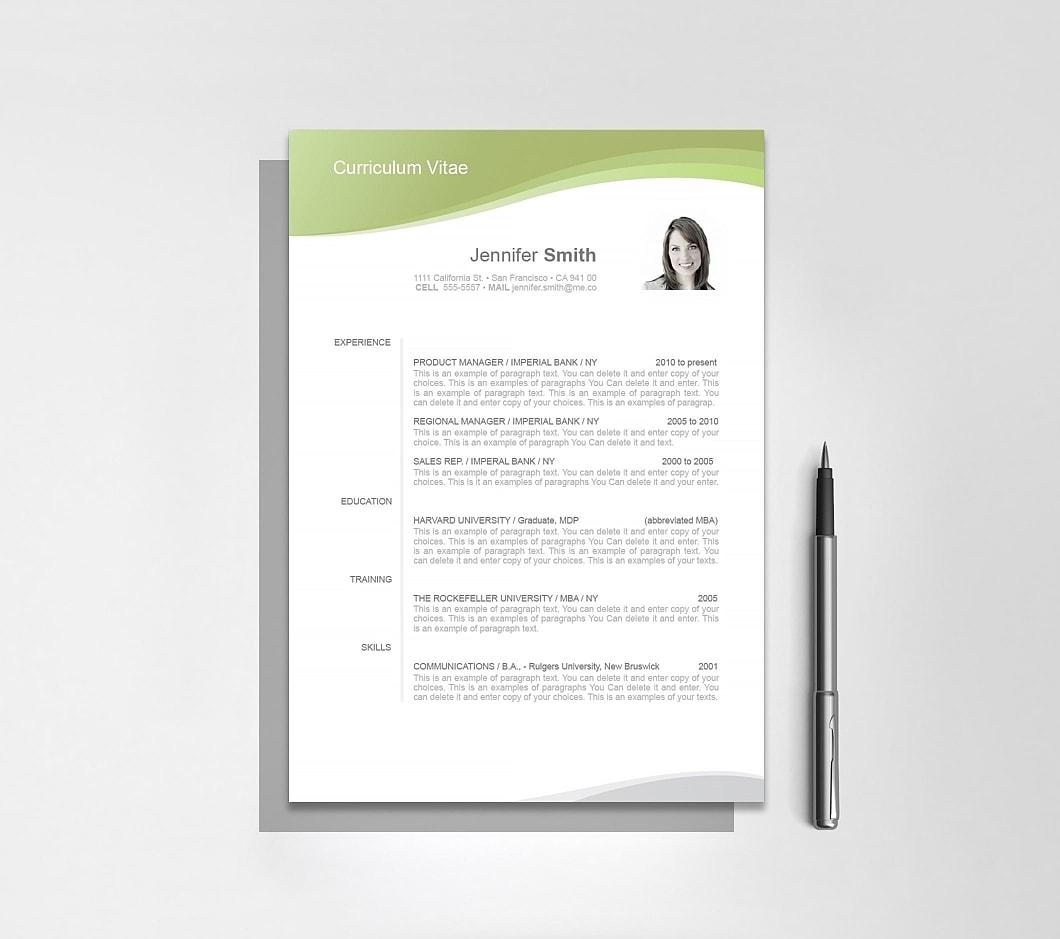 Resumeway Resume Template 106050