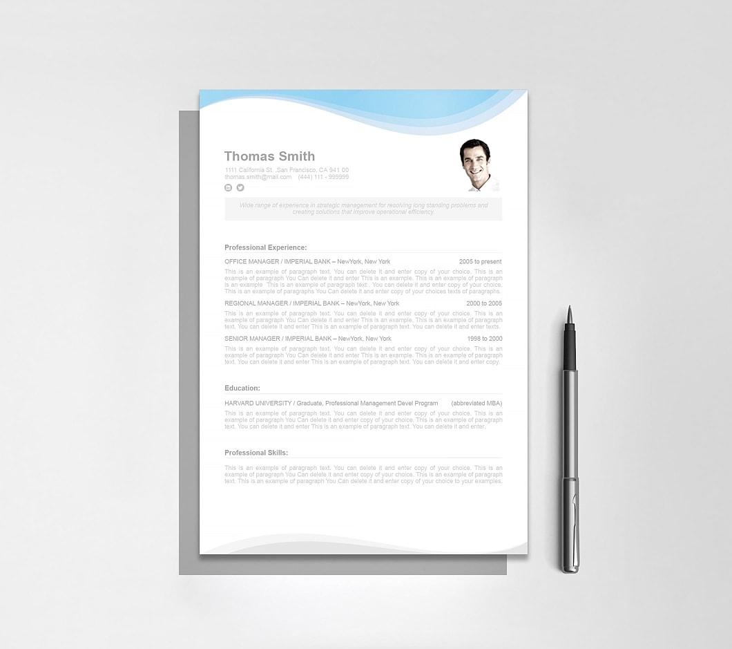 Resumeway Resume Template 107080