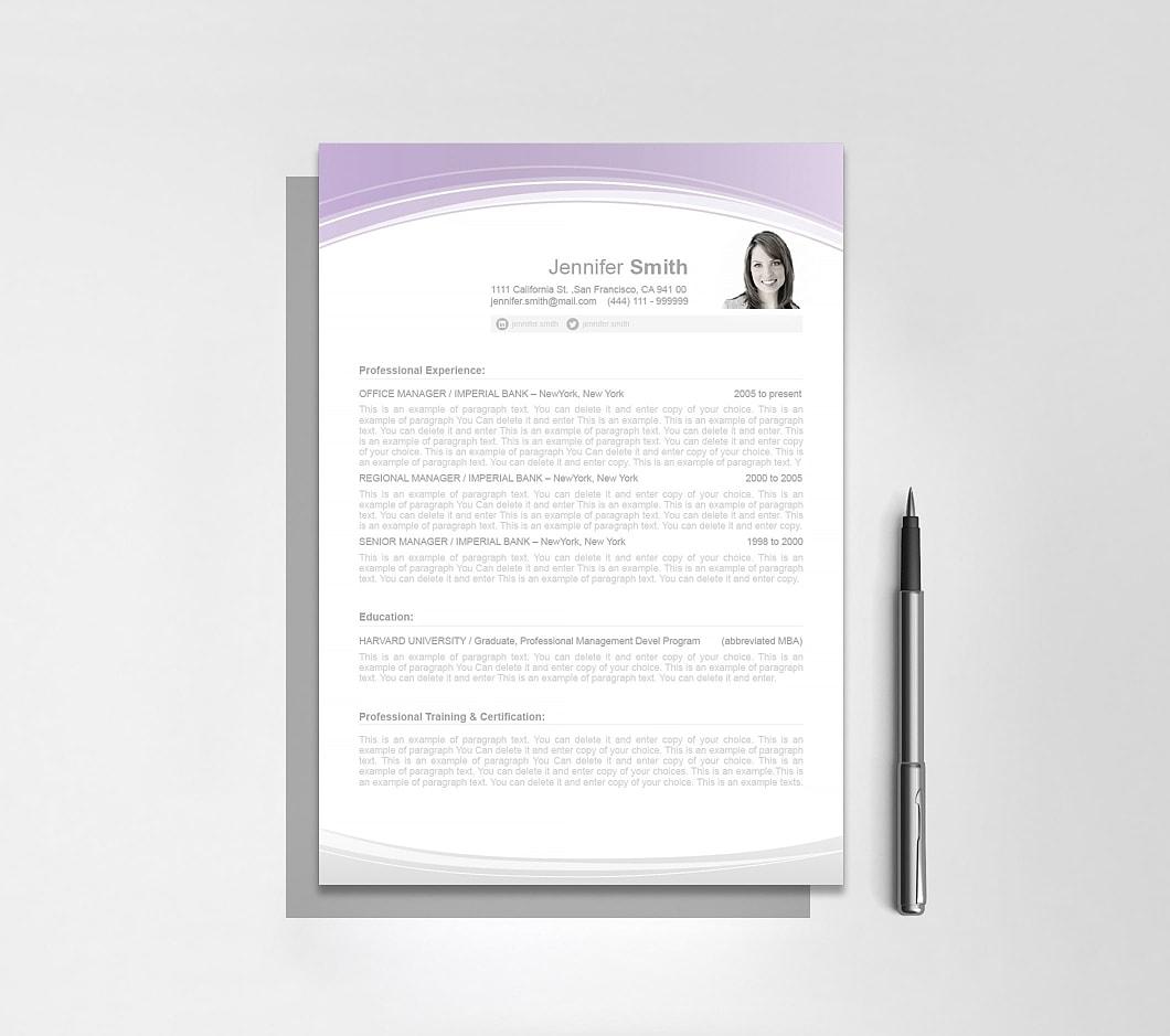 Resumeway Resume Template 108050