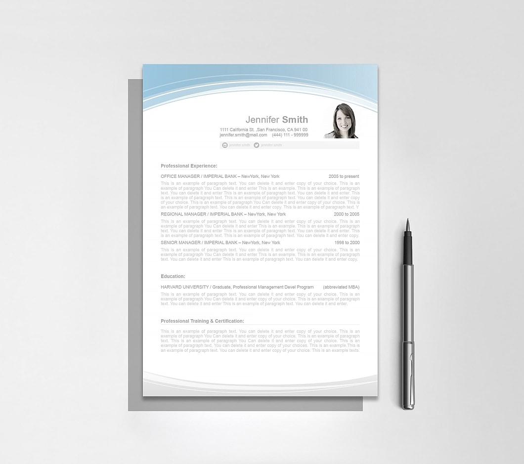 Resumeway Resume Template 108060