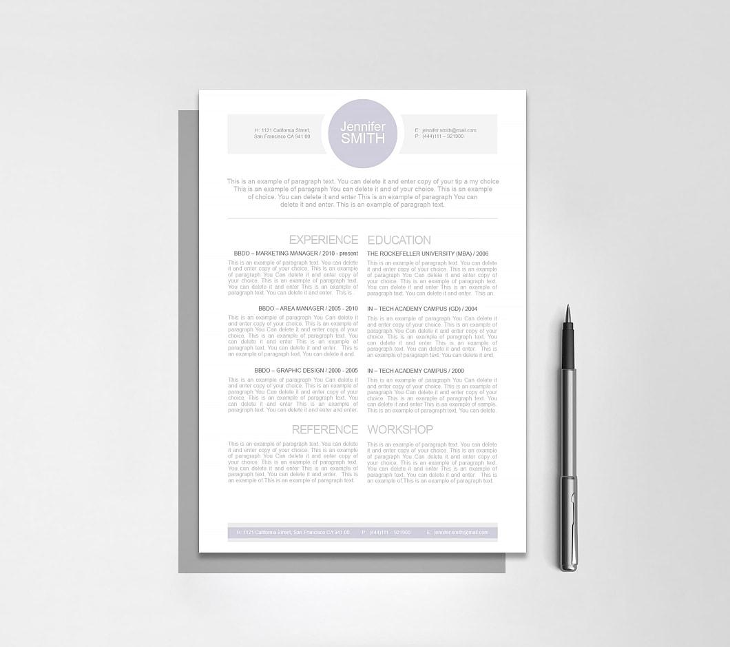 Resumeway Resume Template 109090