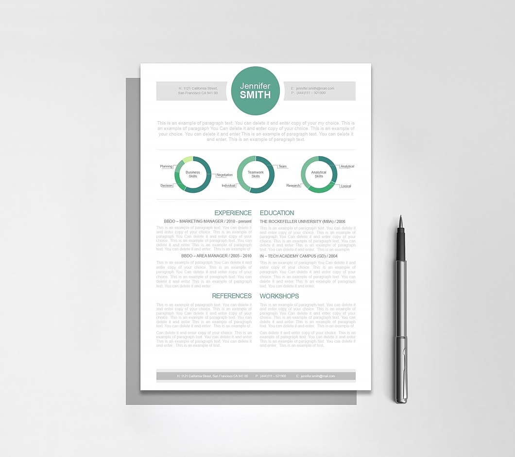 Resumeway Resume Template 110310