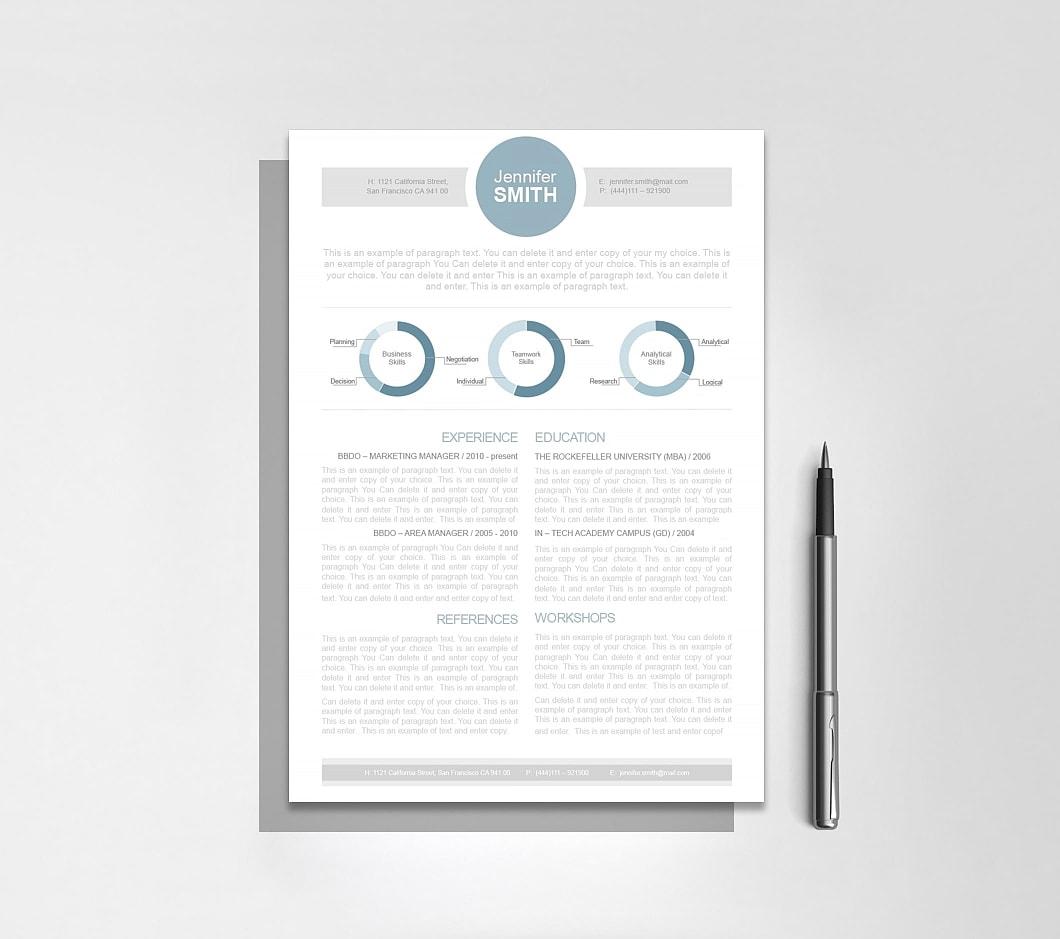 Resumeway Resume Template 110320