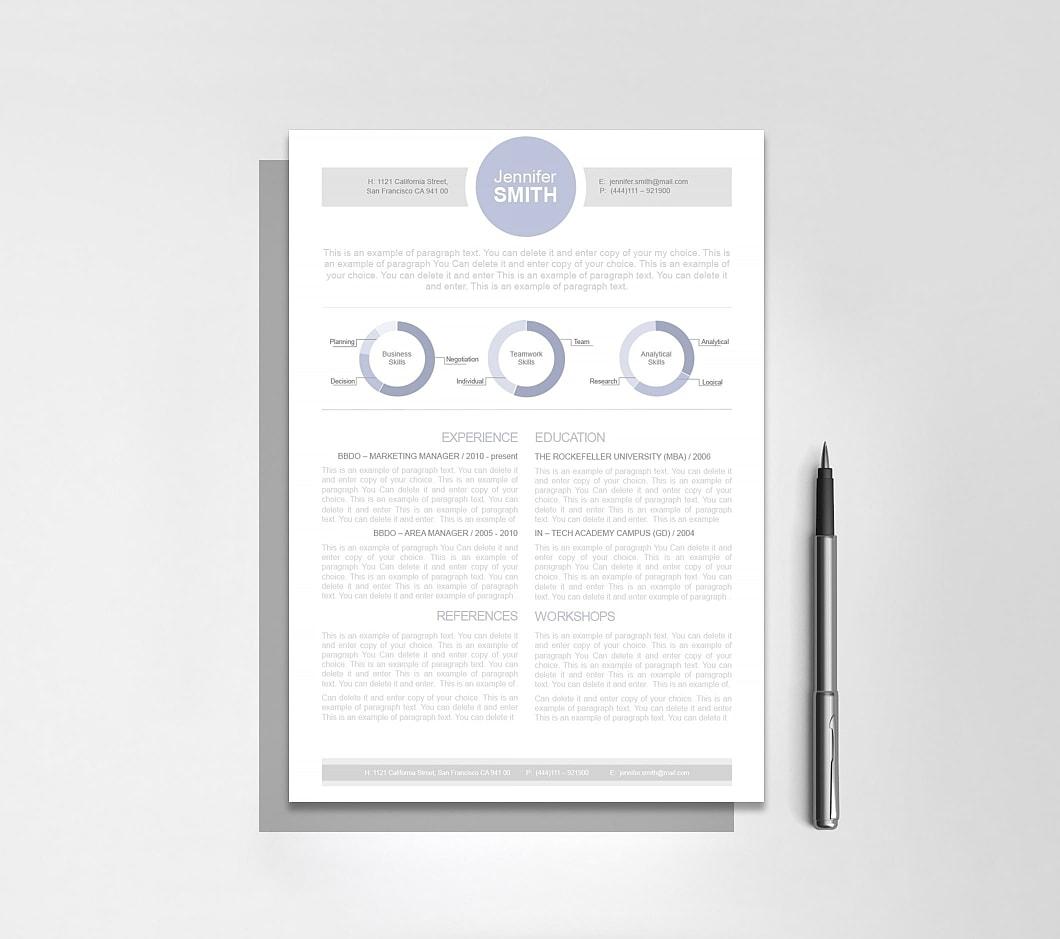 Resumeway Resume Template 110330