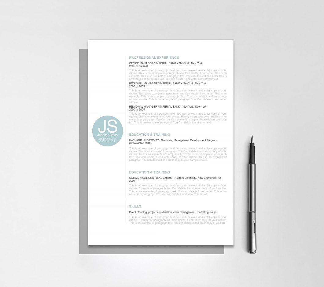Resumeway Resume Template 110560