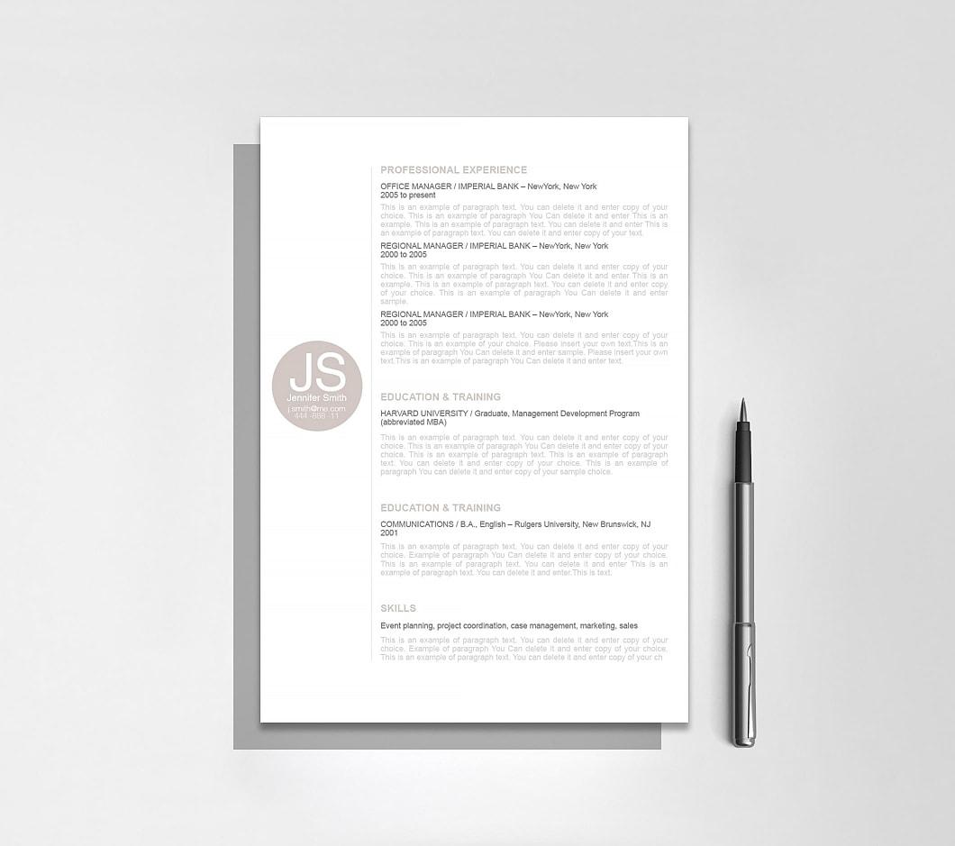 Resumeway Resume Template 110570