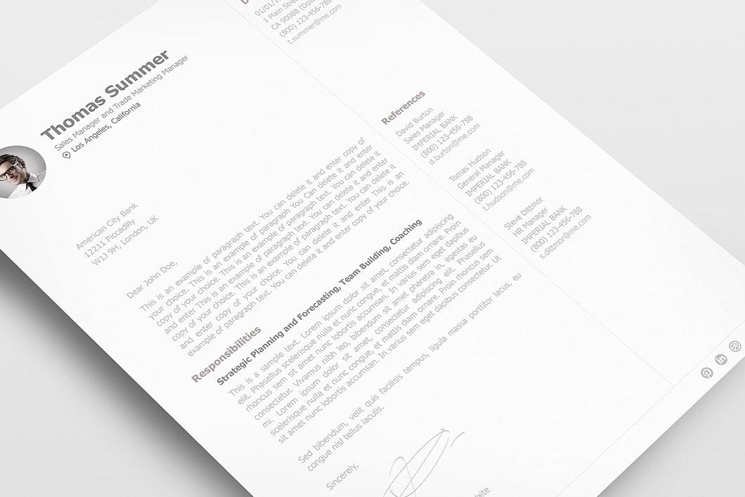 Resumeway Resume Template 110930