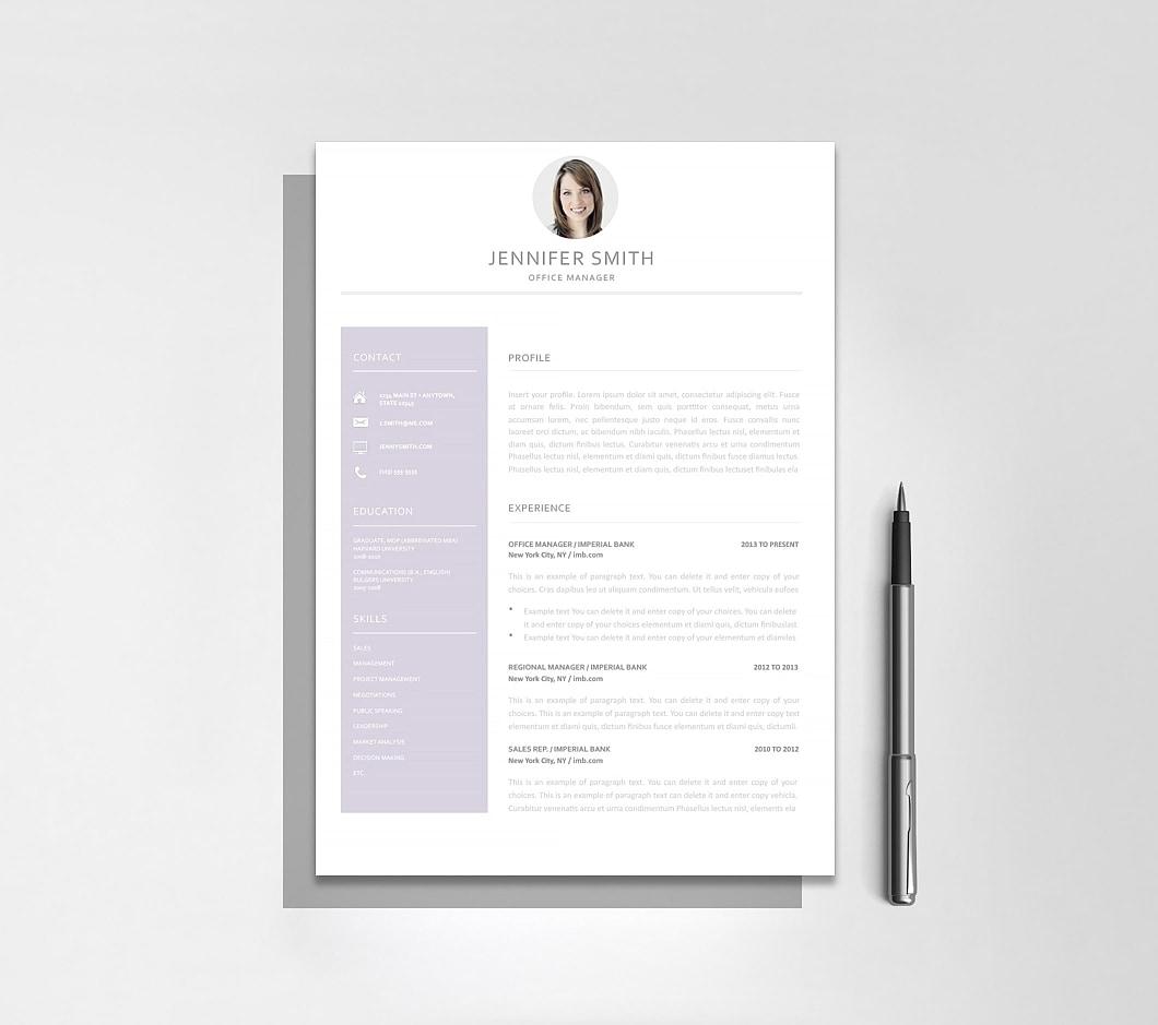 Resumeway Resume Template 120000