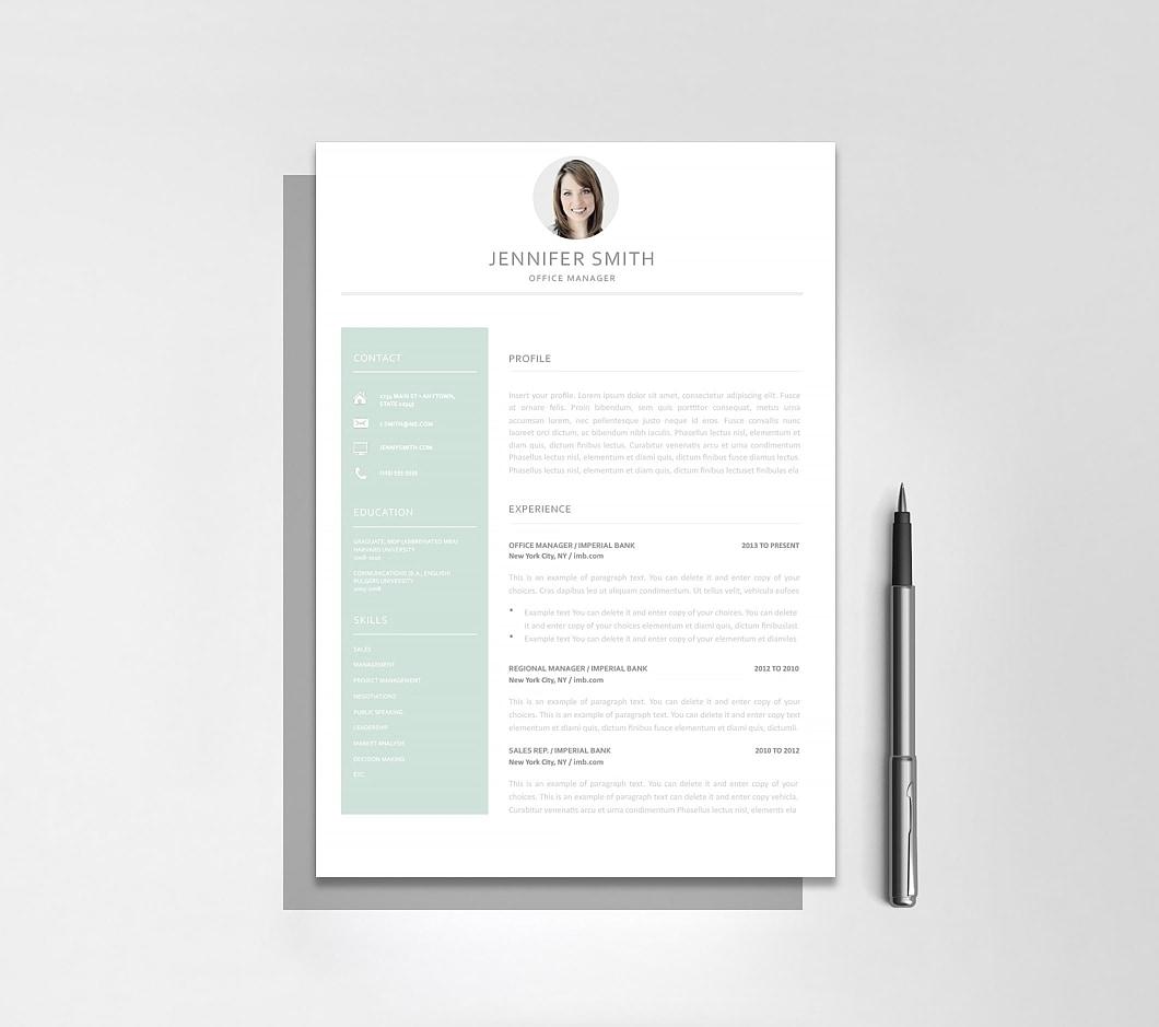 Resumeway Resume Template 120010