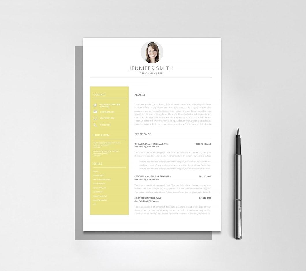 Resumeway Resume Template 120020